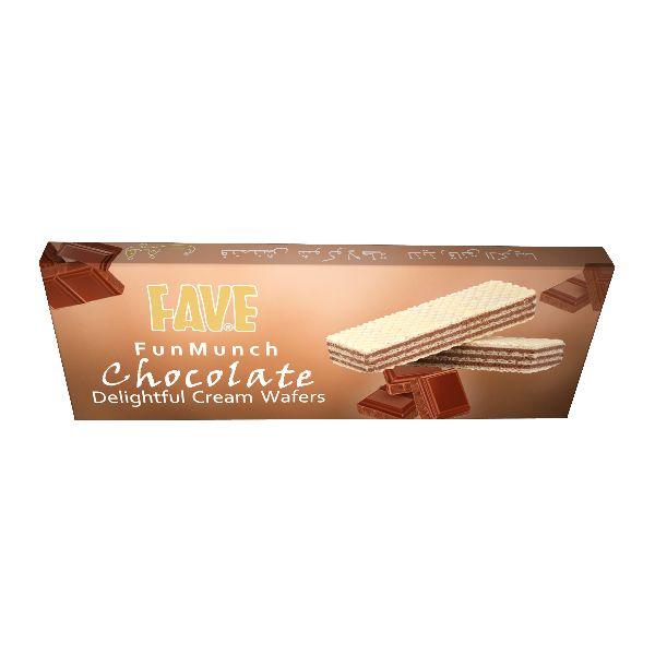 75 Gm Fun Munch Chocolate Cream Wafers