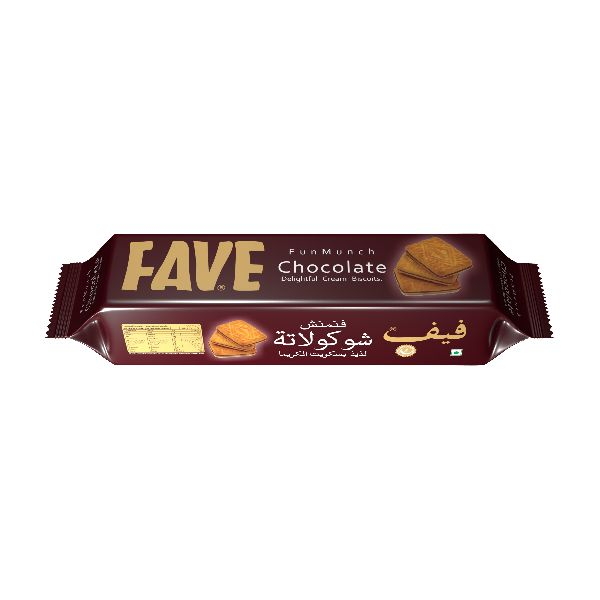 84 Gm Fun Munch Chocolate Cream Biscuits