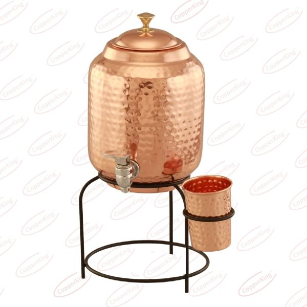 Copper Water Dispenser With Stand