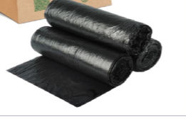 Conventional Black Garbage Bags