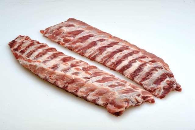 Frozen Pork Belly Bone