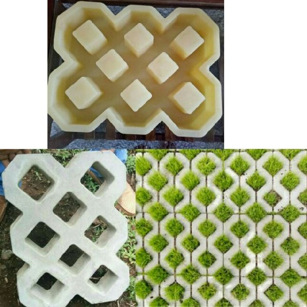 Plastic Grass Paver Moulds