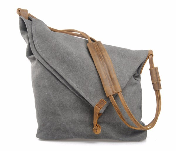 Cross Body Canvas Ladies Shoulder Bag