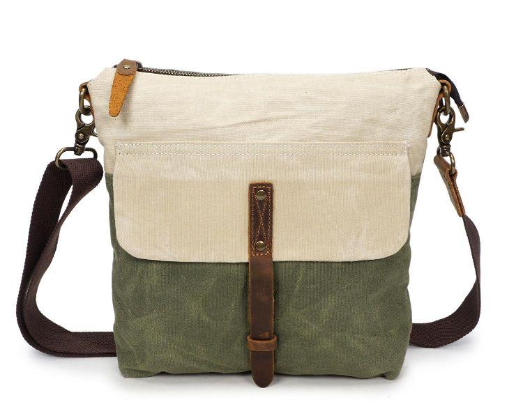 Vintage Canvas Shoulder Sling Ladies Tote Bag