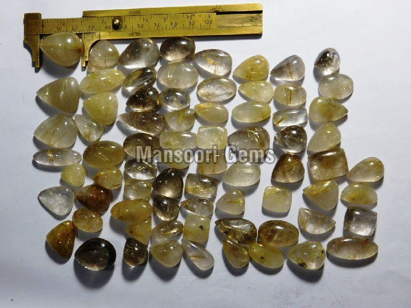 Golden Rutilated Quartz Stone
