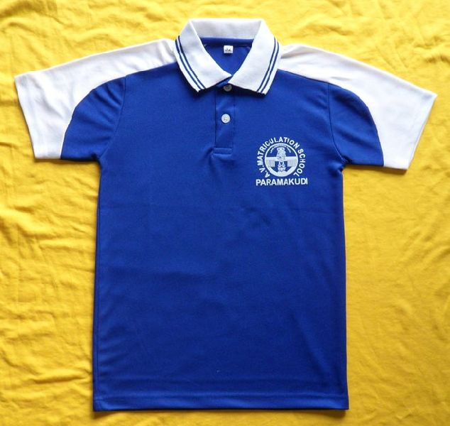 Boys Blue Polo T Shirt