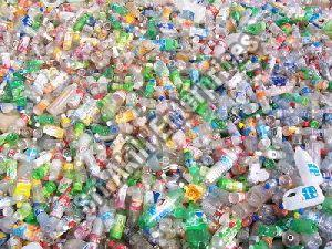 Colored PET Bottle Scrap