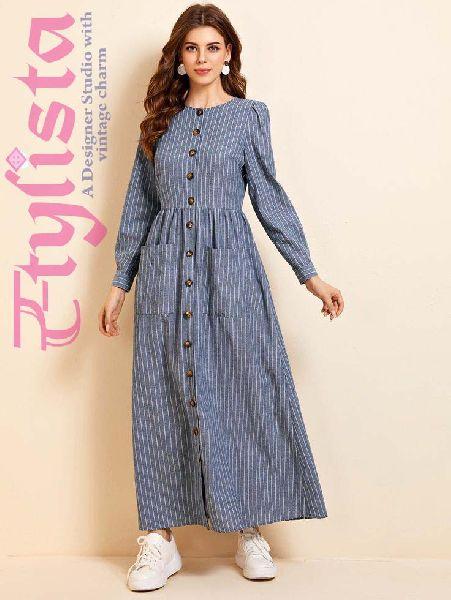 Cotton Tunic Dress