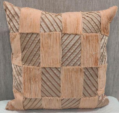 Cotton Slub (M) Blush Cushion Cover