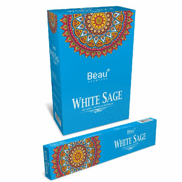 White Sage Masala Incense Sticks
