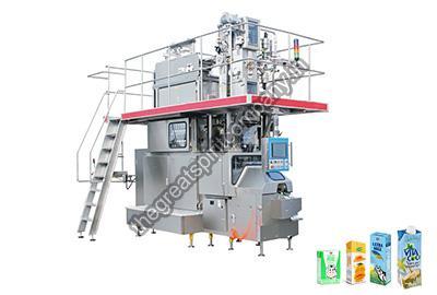 Aseptic Brick Carton Juice Filling Machine Installation