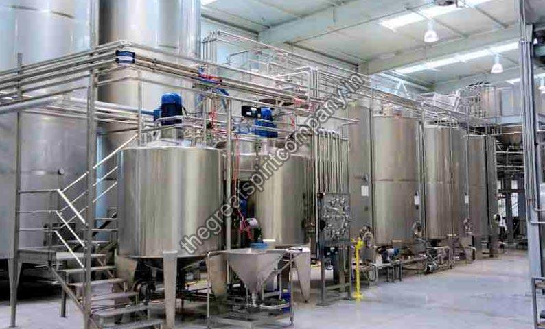 Liquor bottling Automation