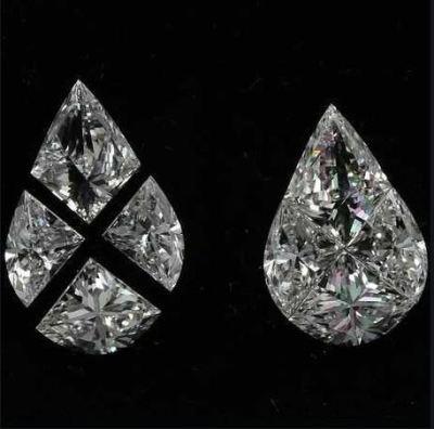 Fancy Pear Pie Cut Diamond