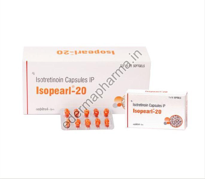 Isopearl-20 Softgel Capsules