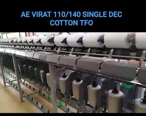 Single Deck Cotton TFO Machine