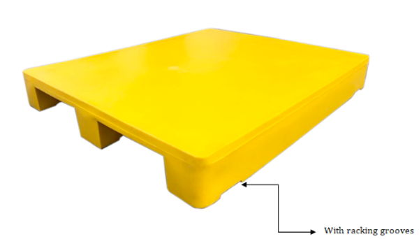 Plain Top Plastic Pallet