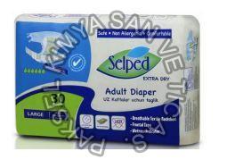 Medium Textile Surface Incoped Adult Diaper