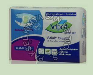 X-Large Textile Surface Selped Adult Diaper