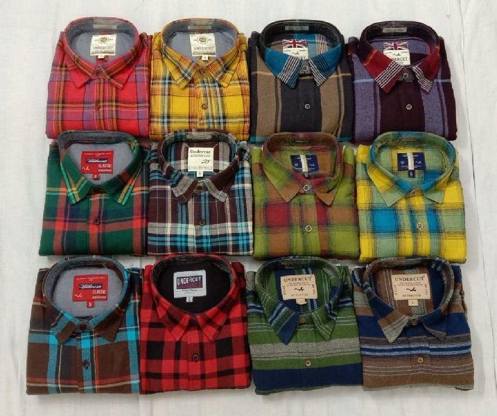 Branded Mens Check Shirts