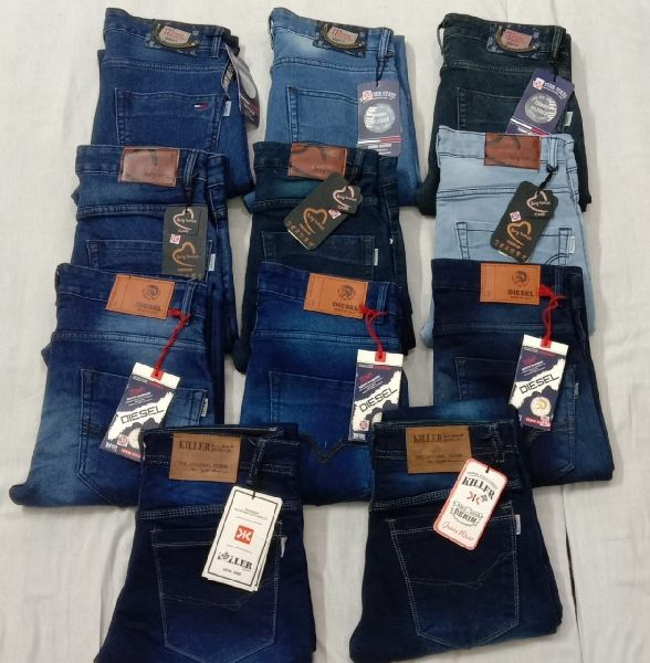 Branded Mens Knitted Jeans