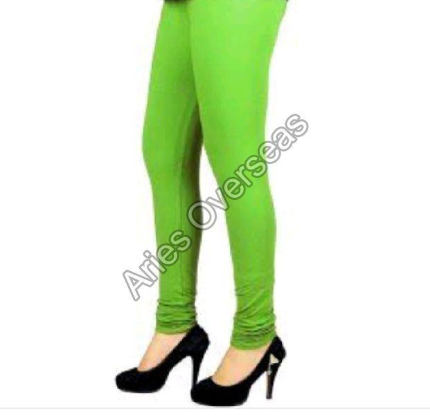 Plain Green Leggings