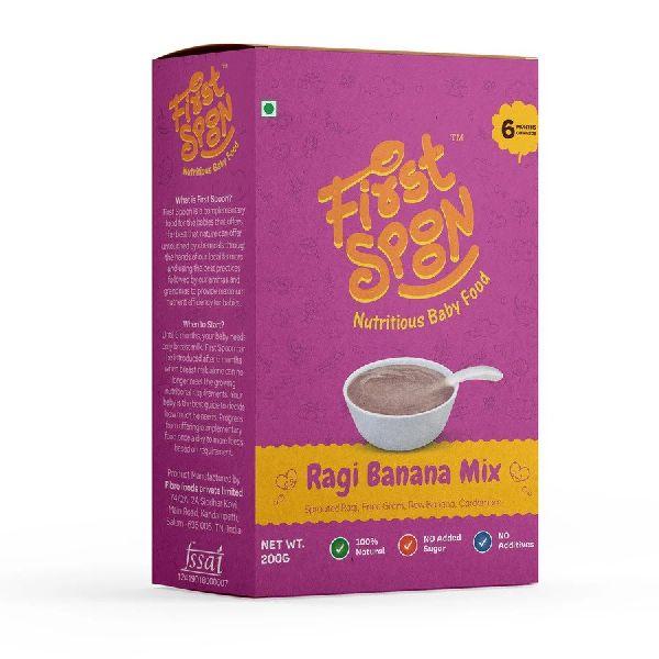First Spoon Ragi Banana Mix