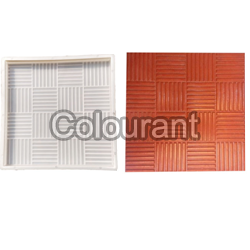 CPT - 17 Silicone Plastic Floor Tiles Moulds