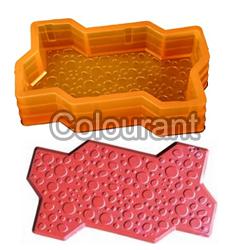 CP - 02 Zigzag Bubble Rubberised PVC Interlocking Paver Moulds