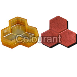 CP - 15 Trihex Rubberised PVC Interlocking Paver Moulds