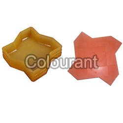 CP - 50 Star Rubberised PVC Interlocking Paver Moulds