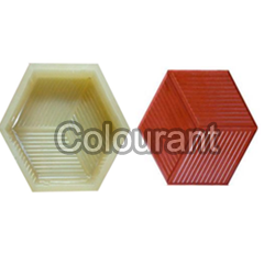 CP- 59 Hexa Line Rubberised PVC Interlocking Paver Moulds