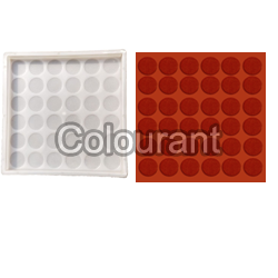CPT - 03 Silicone Plastic Floor Tiles Moulds