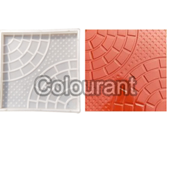 CPT - 05 Silicone Plastic Floor Tiles Moulds