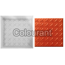 CPT - 14 Silicone Plastic Floor Tiles Moulds