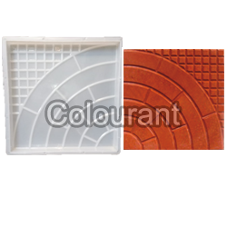 CPT - 20 Silicone Plastic Floor Tiles Moulds