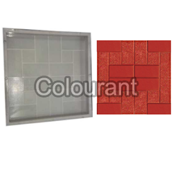 CPT - 21 Silicone Plastic Floor Tiles Moulds