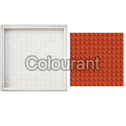 CPT - 22 Silicone Plastic Floor Tiles Moulds