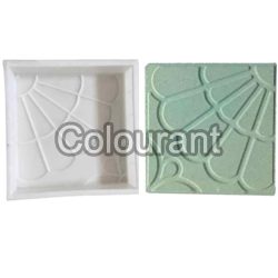 CPT - 23 Silicone Plastic Floor Tiles Moulds