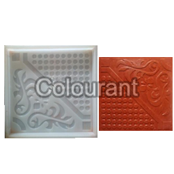 CPT - 24 Silicone Plastic Floor Tiles Moulds