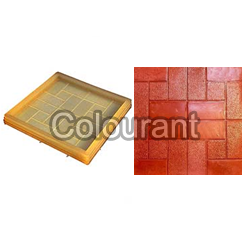 CT-52 Rubberised PVC Floor Tiles Moulds