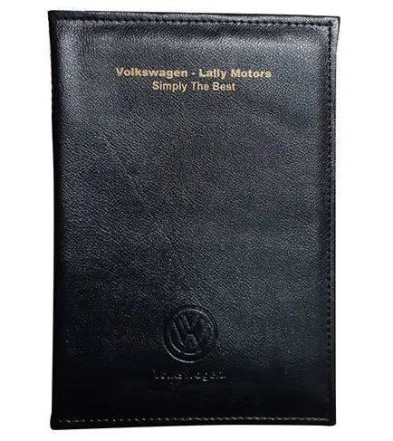 Car Document Pure Leather Pouch