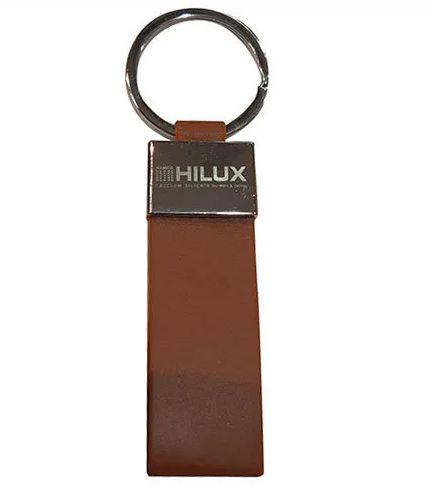 Plain Leather Keychain