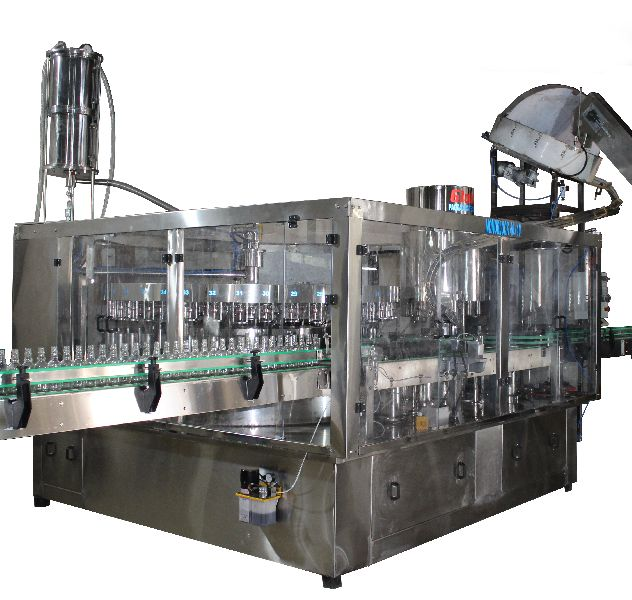 Automatic Monoblock Filling Cum Rotary Cap Sealing Machine,( 40 x 10 )