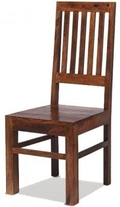 Reclaimed High Back Slat Chair