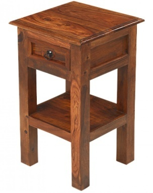 Reclaimed Lamp Telephone Table