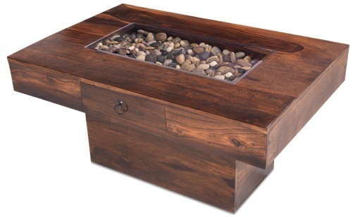 Reclaimed Pebble Coffee Table