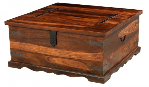 Reclaimed Square Coffee Trunk