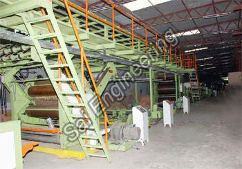 Automatic Corrugated Board Making Plant