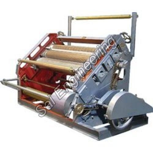 bearing mounted corrugation machine