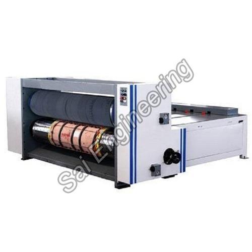 Chain Feeder Rotary Die Sheet Cutting Machine